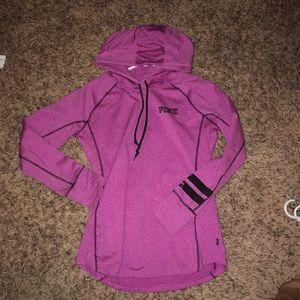 VS Pink Fleece Lined Hoodie